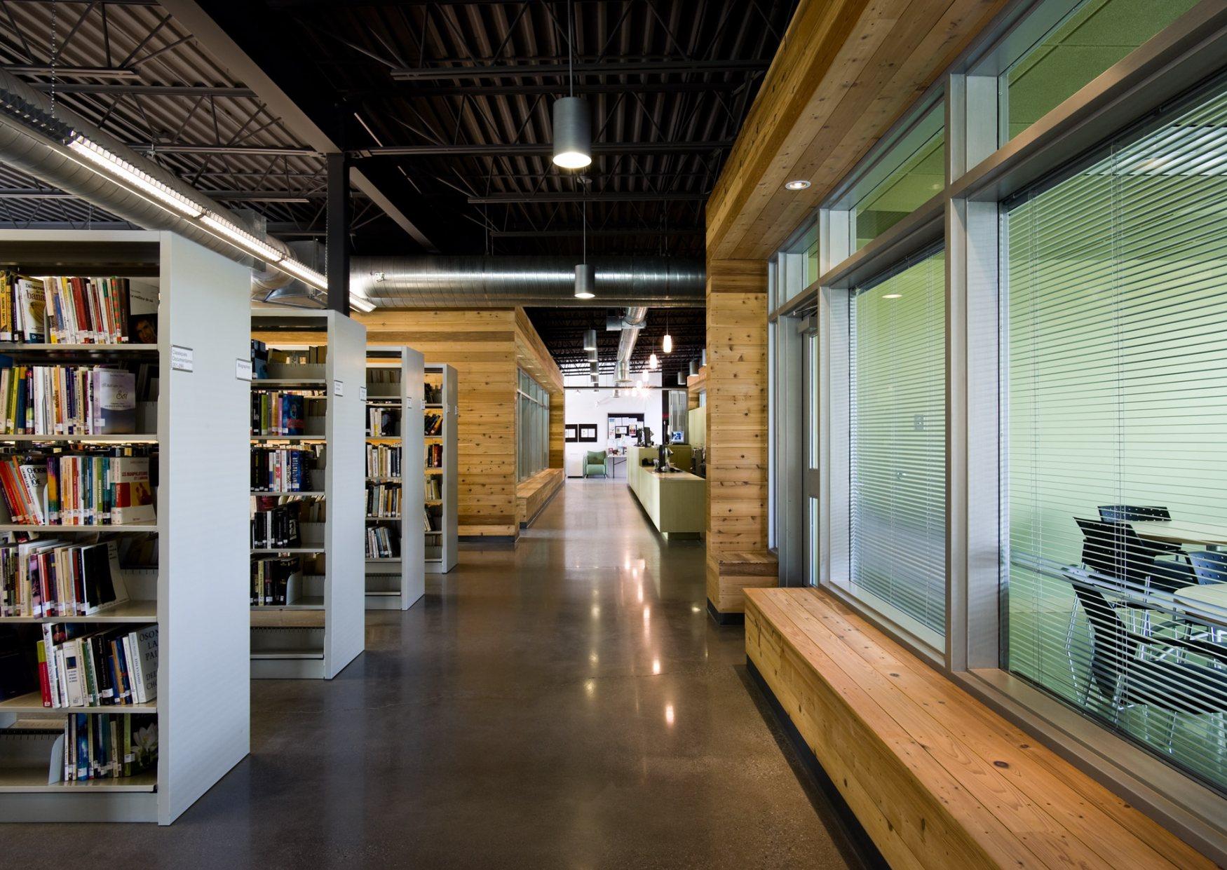 bibliothèque municipale et scolaire de Bromont