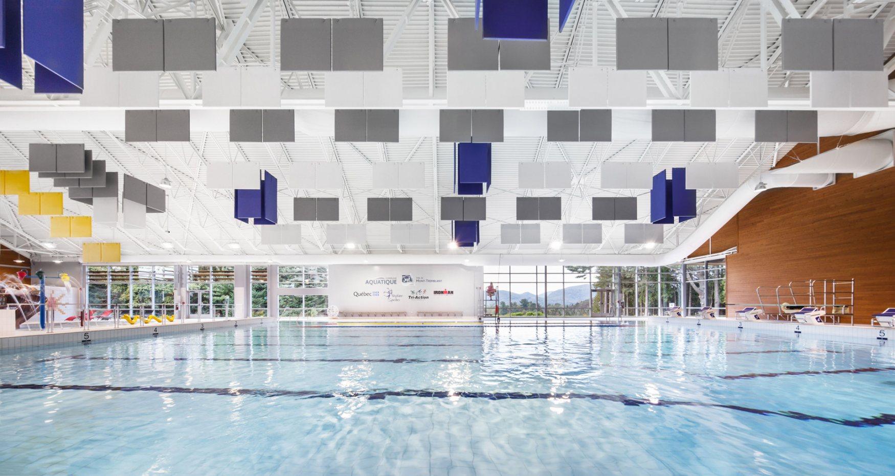 Mont-Tremblant'S aquatic complex
