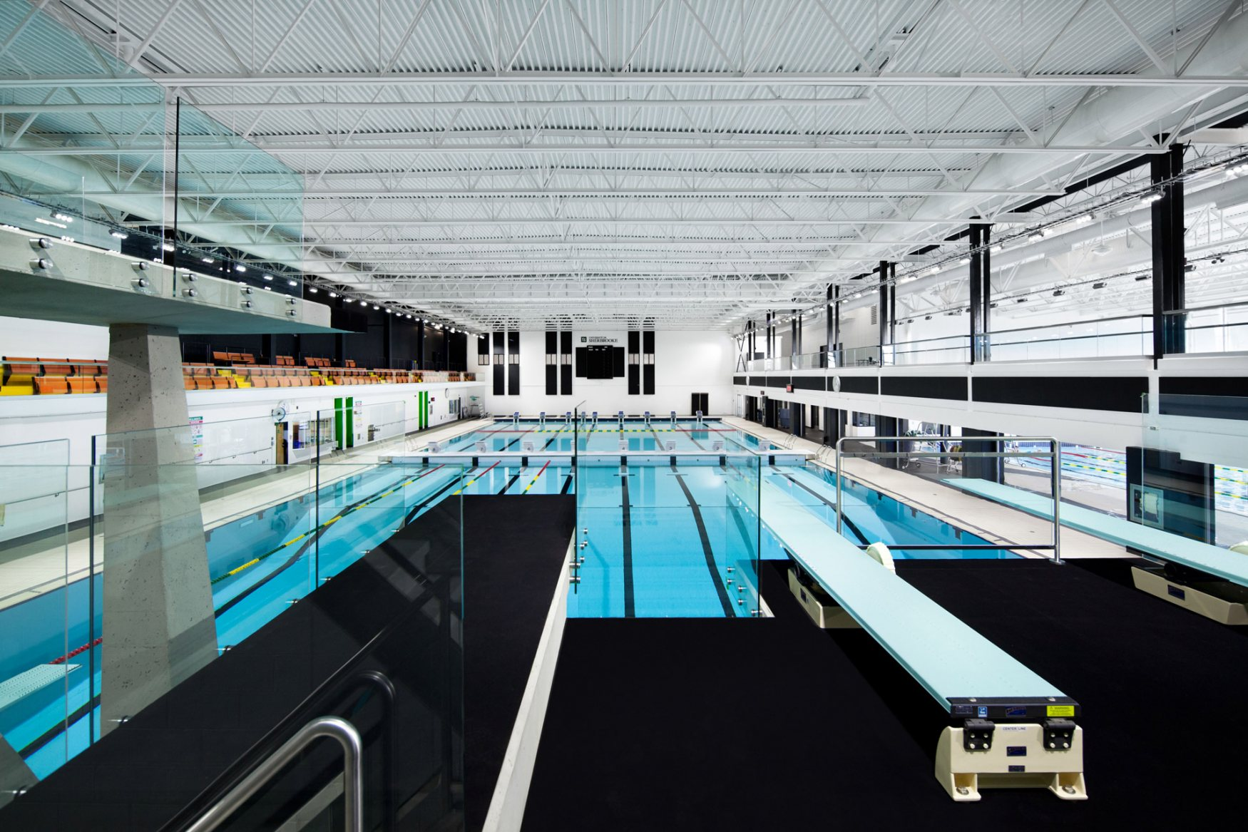 Sherbrooke University pool complex