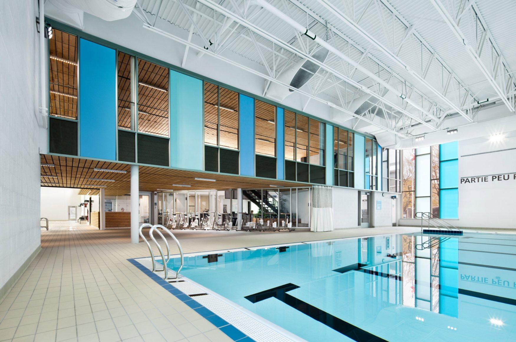 Annie Pelletier pool complex